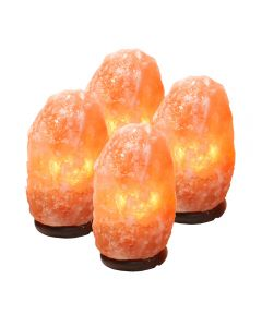 Himalayan Salt Lamp 4-6kg (4pcs) (Includes Electric Leads) NETT