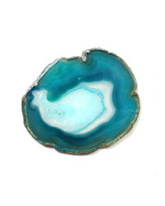 "A2 Agate Slice Green(2"" to 2.5"") NETT"
