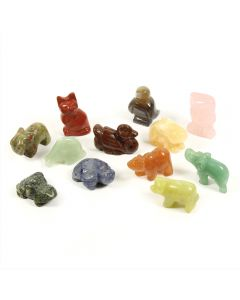 40mm Animal Carvings (Box of 12) NETT