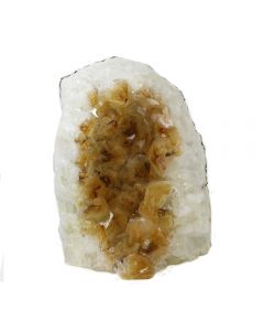 Citrine Heat Treated Cut Base 0.5-1kg Small (1 Piece) NETT