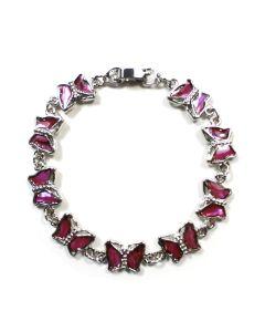 Bracelet Pink Abalone Butterfly ECND (12 Pieces) NETT