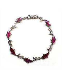 Bracelet Pink Abalone Dolphin ECND (12 Pieces) NETT