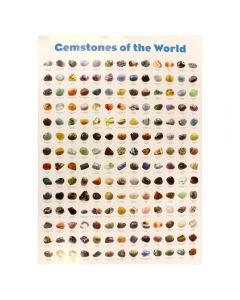 Gemstones of the World Poster (10pcs) NETT