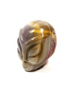 """2"""" Alien Skull Carving Mookaite (1 Piece) NETT"""