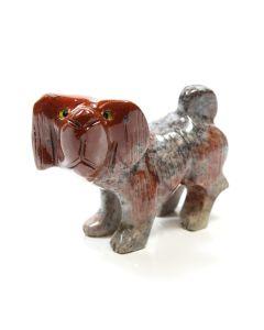 65mm Soapstone Dog (1 Piece)