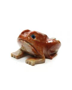 65mm Soapstone Frog (1pc)