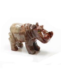 65mm Soapstone Hippo (1pc)