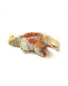 65mm Soapstone Iguana (1 Piece)