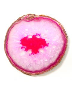 "A7 Agate Slice Pink (5.5"" to 6"") NETT"