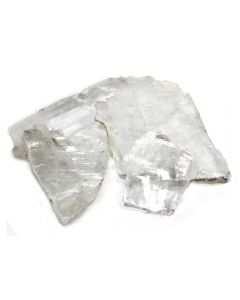 Selenite Fish Tail (1kg) NETT