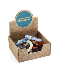 Assorted Tumblestone Bracelets Retail Box (15pcs) NETT
