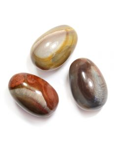 Gemstone Egg 30x45mm Polychrome Jasper (1pc) NETT