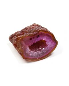 "2-3"" Agate Cut and polished Geode Pink (1 Piece) NETT"