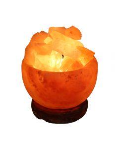 "Salt Fire Bowl 5"" (Includes Electric Lead) (1pc) NETT"