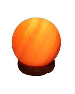 "Ball Salt Lamp 5"" (Including Electrics) (1 Piece) NETT"