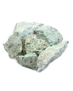 Fuchsite-Kyanite with Ruby (1kg)