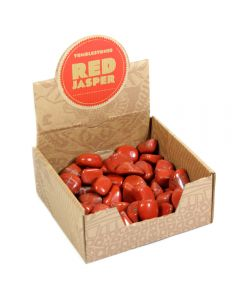 Red Jasper Tumblestone Retail Box (50pcs) NETT