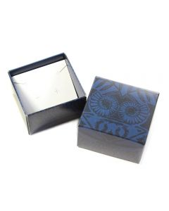 Small Printed Blue Gift/Jewellery Box (10 Piece) NETT