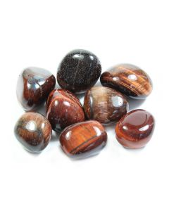 Tiger Eye Red A grade (100g) 20-30mm Med tumble