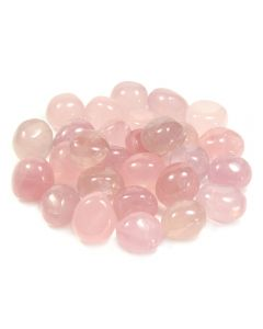 Rose Quartz 30-40mm Tumblestone Madagascar (KG) NETT