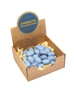 Angelite Tumblestone Retail Box (25pcs) NETT