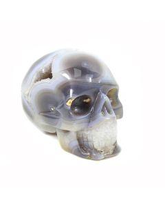 Amethyst/Agate Skull (688g) (1pc) NETT
