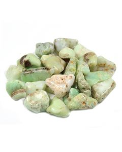 Chrysoprase B Grade (250g) 20-30mm Med tumble