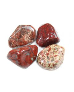 Jasper Brecciated South African Shape (100g) 30-40mm Lrg tumble (WAS £4 NOW £2)NETT