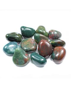 Bloodstone 30-40mm Large Tumblestone (500g)