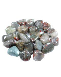 Bloodstone/Seftonite (250g) 20-30mm Medium (SA Shape) Tumble