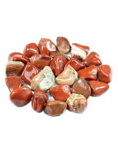 Brecciated Jasper DARK 20-30mm Medium Tumblestone (250g) (WAS £4 NOW £2) NETT