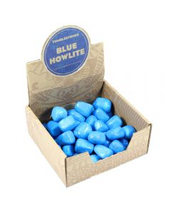 Blue Howlite Tumbleston Retail Box (50pcs) NETT