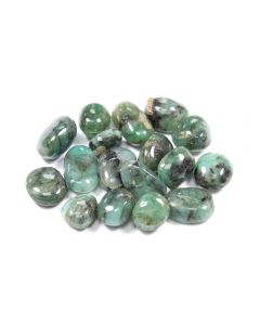 Emerald 10-20mm Small Tumblestone (25g) NETT