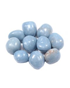 Angelite 10-20mm Small Tumblestone (100g)