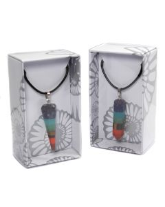 Chakra Point Pendant on Cord Retail Box (16 Piece) NETT