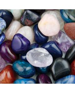 Brazilian Mix (500g) 20-30mm Med Tumbled NETT