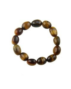 Tiger Eye Tumblestone Bracelet (1pc) NETT