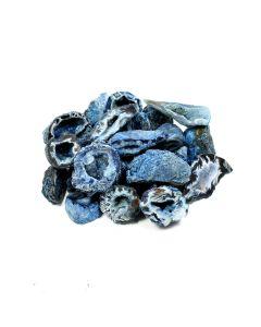 Blue Agate Geode (50pcs) NETT