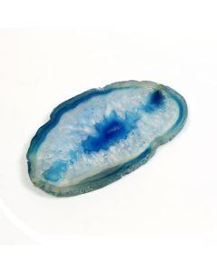 "A1 Agate Slice Blue (1.5"" to 2"") NETT"