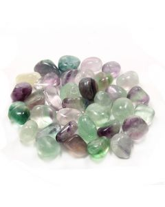 Fluorite 20-30mm Medium Tumblestone (250g) NETT