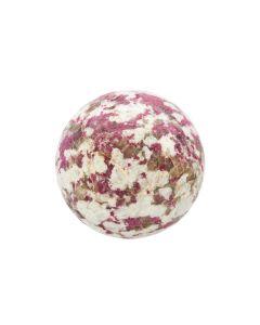 Rubellite in Feldspar Sphere 50-100mm (1kg) NETT